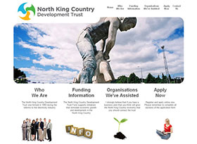 North King Country Development Trust Website